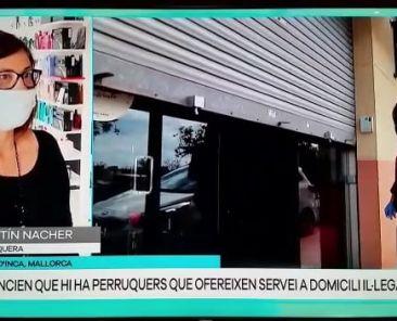 Entrevista en IB3 a Maritín Nácher