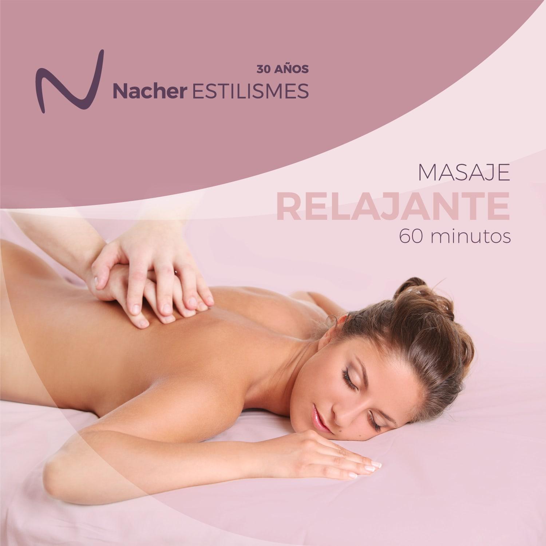 Sorteo masaje relajante - Concurso de Nacher Estilismes